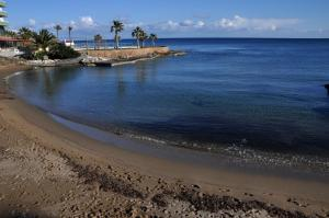 Pantai di atau di dekat aparthotel
