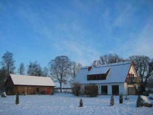 Hjortsby Torp during the winter