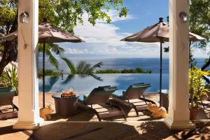 A patio or other outdoor area at Residence on the Rocks