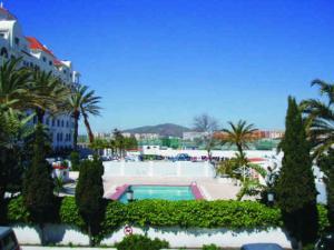 The swimming pool at or near Marina Bay Gibraltar