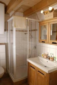Ein Badezimmer in der Unterkunft Ferienhaus Lenzenbauer