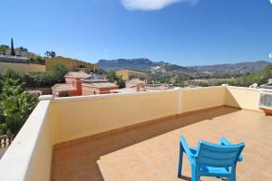 Balcone o terrazza di Lila Rosa Costa Calpe