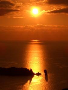Alba o tramonto visti dall'interno del residence o dai dintorni