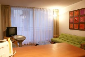 Zona de estar de Apart Hotel Agustinas Plaza