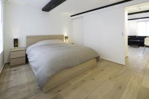 Cama ou camas em um quarto em Apartments Chapeliers / Grand-Place
