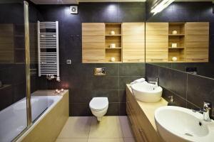 A bathroom at Zakopane Apartamenty LUX