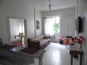 Et sittehjørne på Apartamento Almirante Gonçalves
