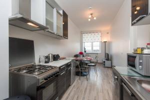A kitchen or kitchenette at Rotalia Apartments