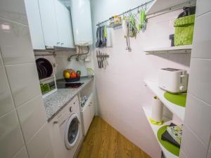 Kuchyň nebo kuchyňský kout v ubytování Casa dos Prazeres