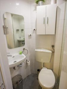 Koupelna v ubytování Casa dos Prazeres