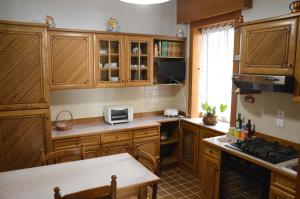 A kitchen or kitchenette at Asteria Venetian Suite