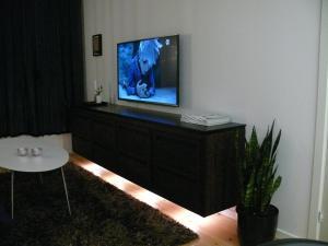 Et tv og/eller underholdning på Holiday Home Fredensvang