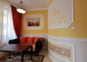 Кът за сядане в Апартаменти Венеция
