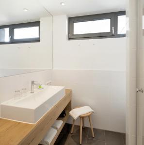 Een badkamer bij Hotel M120