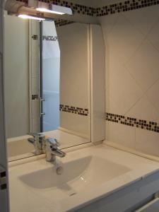 A bathroom at Appartement Centre Ville Ajaccio