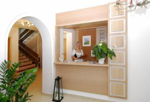 Lobby/Rezeption in der Unterkunft Residence Remi