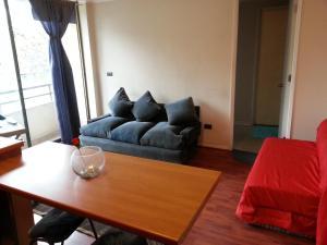 Zona de estar de Kuizi Apartamento Santiago Centro