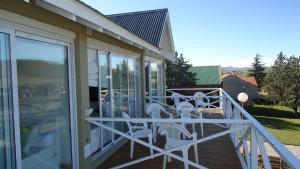 Un balcón o terraza en Altos de Ventana