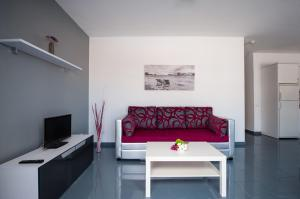 Zona de estar de Apartamentos Miami Sun