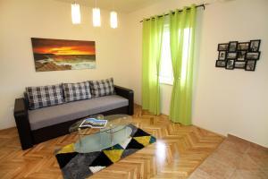 Posezení v ubytování Apartment Biočić