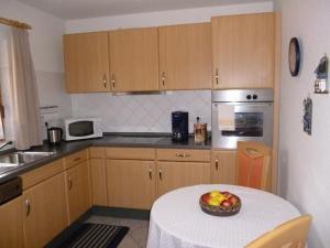 Küche/Küchenzeile in der Unterkunft Ferienhaus Baller