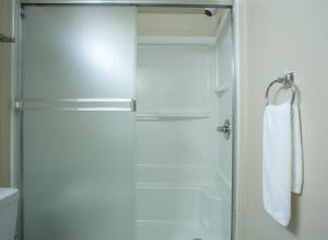 A bathroom at Capital Suites Iqaluit