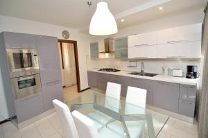 Cuisine ou kitchenette dans l'établissement Charming Venice Apartments