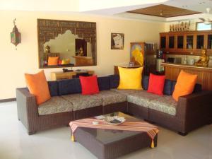 A seating area at Bali Emerald Villas