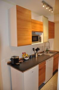 Кухня или мини-кухня в Appartment Graz Zentrum
