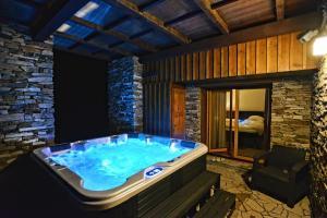 Lázně a/nebo wellness v ubytování Luxury Wellness Apartment