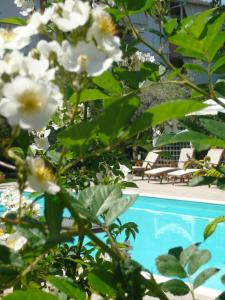 The swimming pool at or near Hotel Avra