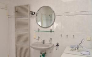 Ein Badezimmer in der Unterkunft Ferienhaus Am Walde