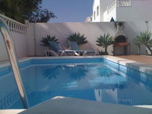 Het zwembad bij of vlak bij Villas Bocaina Beach