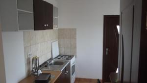 O bucătărie sau chicinetă la Vila Maria