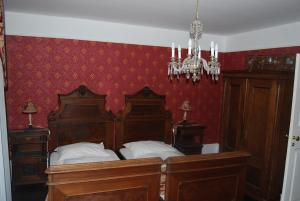 Krevet ili kreveti u jedinici u objektu Apartment Hisa 7 Piran