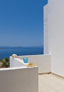 A balcony or terrace at Tersanas Village Apartments