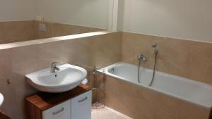 Salle de bains dans l'établissement Apartment Balbínova