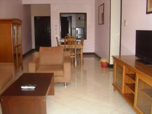 Телевизия и/или развлекателен център в Marina City Stay