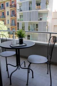A balcony or terrace at Aparthotel Atenea Calabria