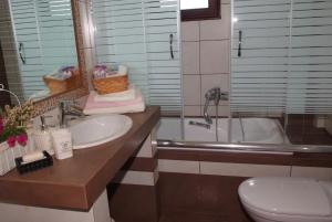 A bathroom at Sofia Luxury Maisonettes