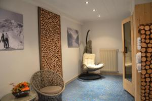 Ein Badezimmer in der Unterkunft Waldheim