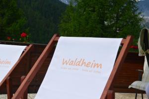 Das Logo oder Schild der Ferienwohnung