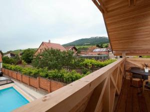 A balcony or terrace at Rezidence Věstonice