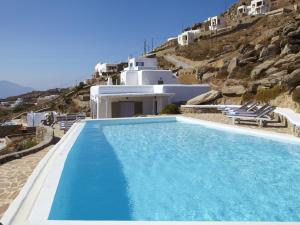 The swimming pool at or near Lights Of Mykonos