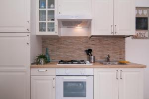 Cucina o angolo cottura di Casa Vacanze Ducezio