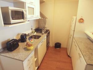 Una cocina o kitchenette en Nexos Bariloche