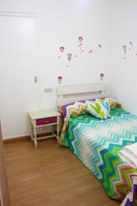 Letto o letti in una camera di Apartamento Rio Sar
