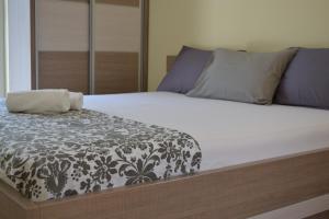 Krevet ili kreveti u jedinici u okviru objekta Apartments Lalević