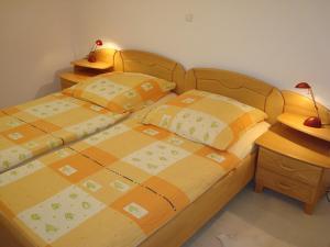 Postelja oz. postelje v sobi nastanitve Apartment Kotnik