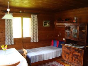 Ein Bett oder Betten in einem Zimmer der Unterkunft Schoner Erika